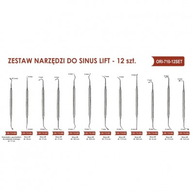 Sinus lift, set 10 pcs + 2 pcs free