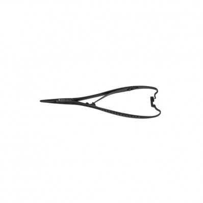 Mathieu needle holder, black ceramic coated - 14 cm