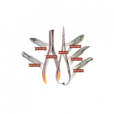 Podstawowy zestaw kleszczy ortodontycznych - pakiet promocyjny PAK-11